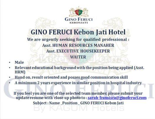 Gino Feruci Kebonjati Bandung Hotel