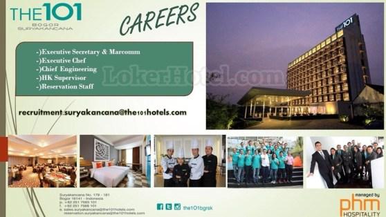 Job Vacancy The 101 Bogor Suryakencana