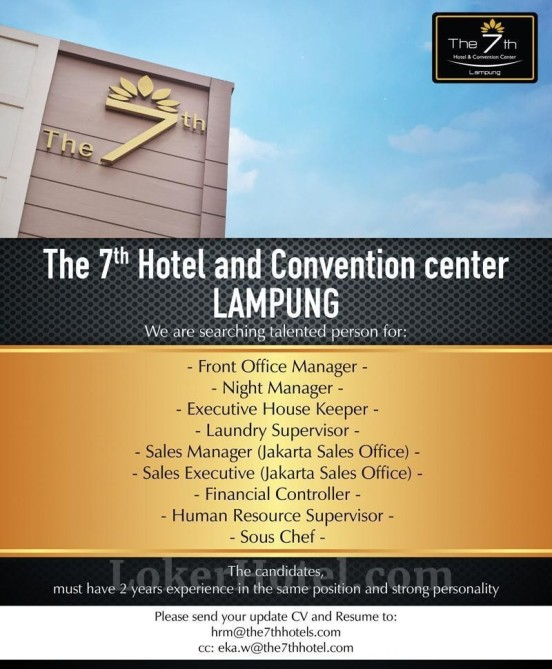 The 7th Hotel & Convention Center Lampung