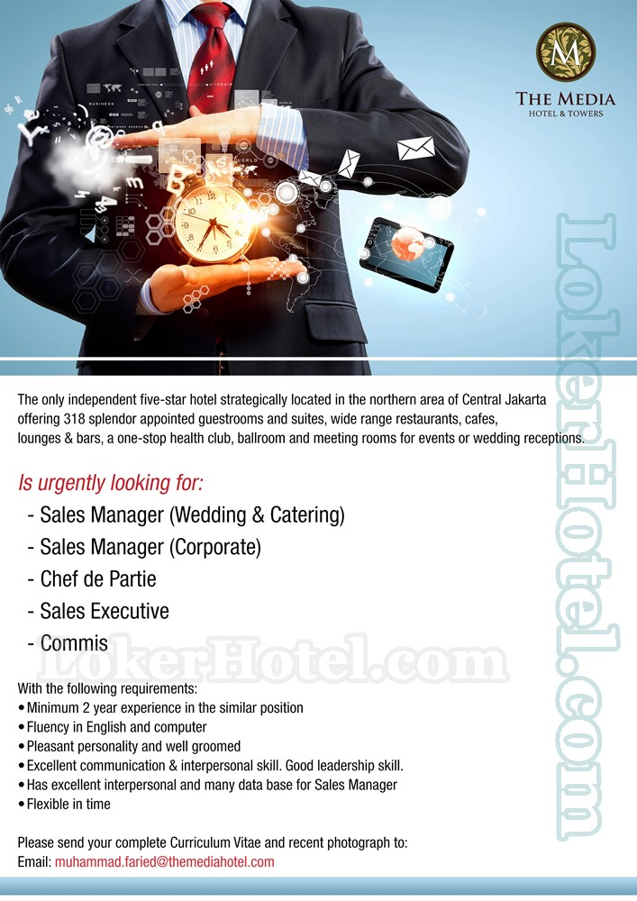 Job Vacancy Hotel Indonesia