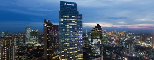 Raffles Jakarta // Natalia Lin