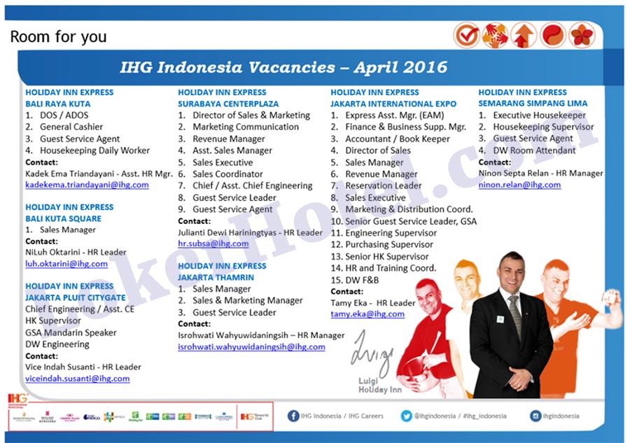 Holiday Inn Express Surabaya, Bali, Jakarta & Semarang