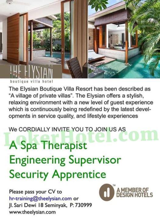 The Elysian Boutique Villa Hotel Seminyak
