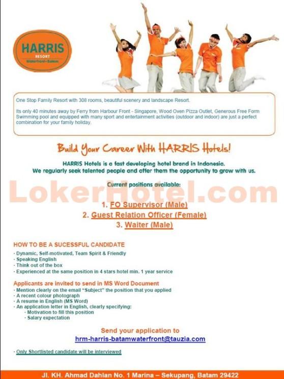 Harris Resort Waterfront Batam Lokerhotel Com