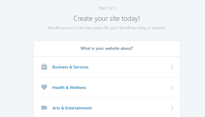 Create Your Blog!