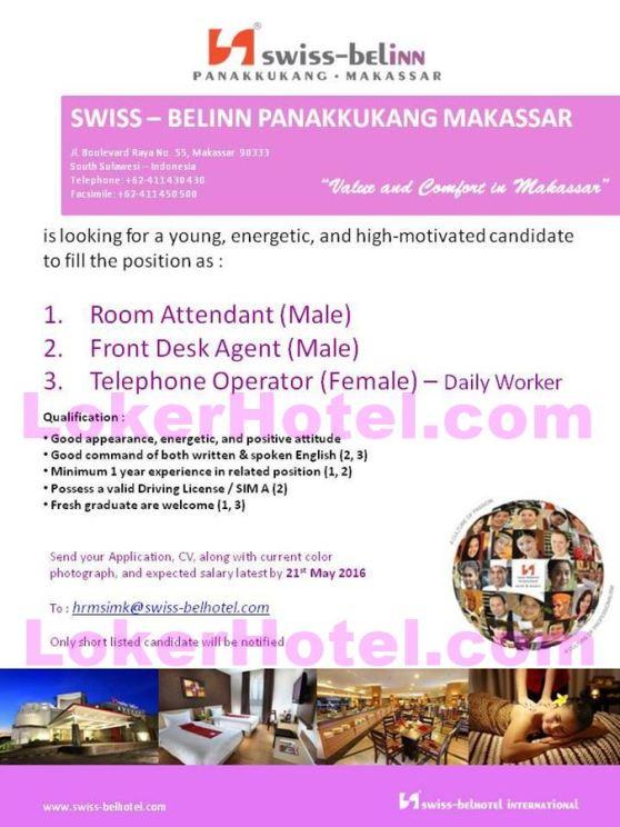 Swiss Belinn Panakkukang Makassar Lokerhotel Com