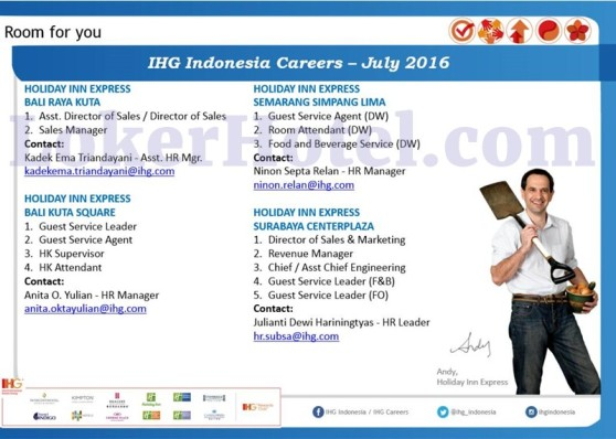 Holiday Inn Express Bali, Semarang, & Surabaya