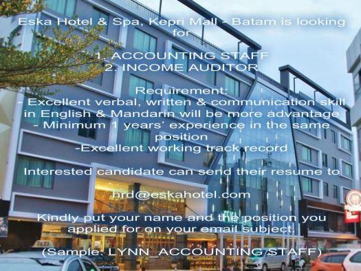 Eska Hotel & Spa Batam