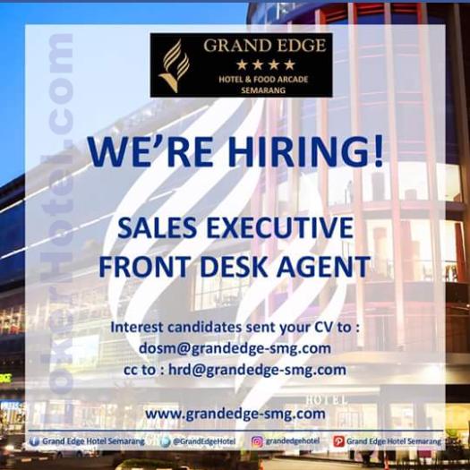 Grand Edge Hotel Semarang // Audrey Gleyninda