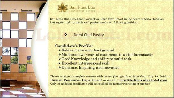 Bali Nusa Dua Hotel & Convention // fb Ketut Murta