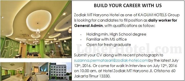 Zodiak MT Haryono Hotel Jakarta