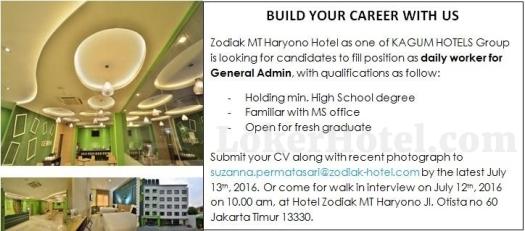 Zodiak MT Haryono Hotel Jakarta // Suzanna Permatasari