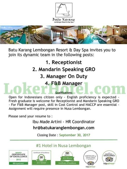 Batu Karang Lembongan Resort & Day Spa Bali //// Rahmat Julyanto