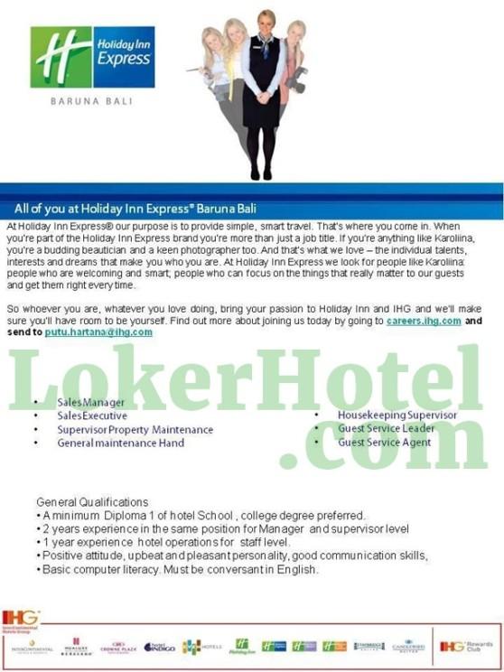 Holiday Inn Express Baruna Bali - LokerHotel com