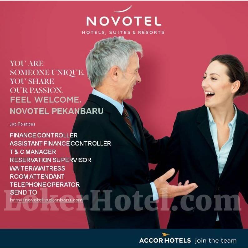 Novotel Pekanbaru Loker Lowongan Kerja Hotel