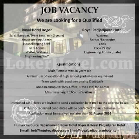 Royal Hotel Bogor Royal Padjadjaran Hotel Lokerhotel Com