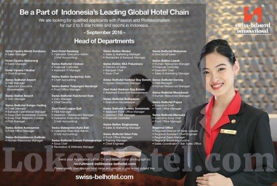Swiss-Belhotel International — HoD