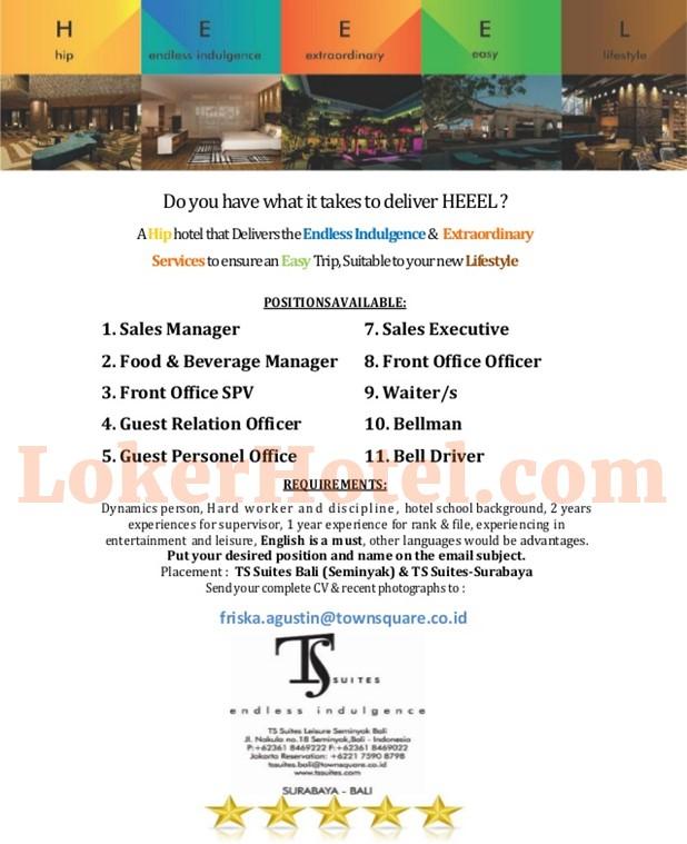 Job Vacancy Hotel Di Jakarta 2018 | DiZiJobs.com