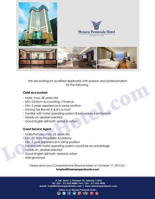 menara peninsula hotel jakarta lokerhotel com rh lokerhotel com