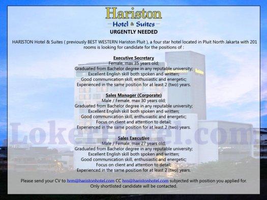 Hariston Hotel & Suites Jakarta // Andito Eko Nugroho