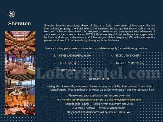 Sheraton Mustika Yogyakarta Resort & Spa [CLOSED] - LokerHotel com