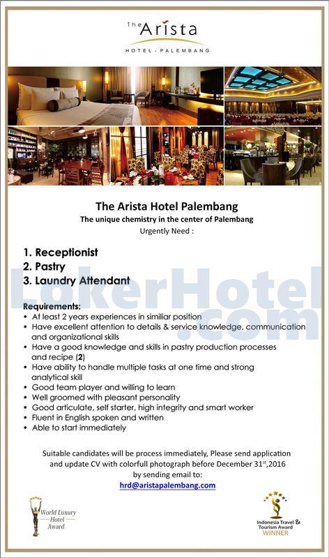 The Arista Hotel Palembang