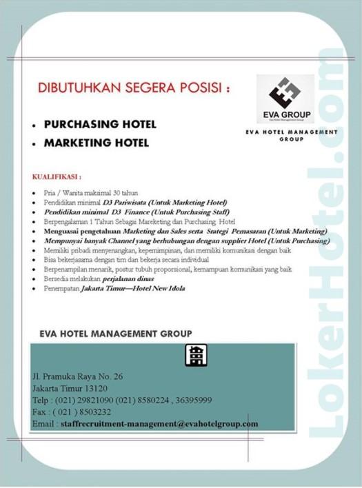 Eva Hotel Management Group Jakarta