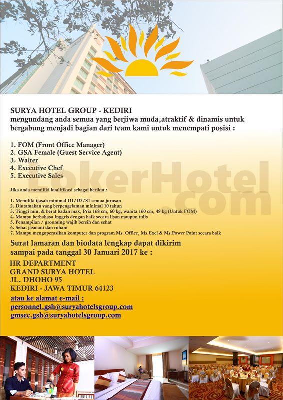 Grand Surya Hotel Kediri Lokerhotel Com