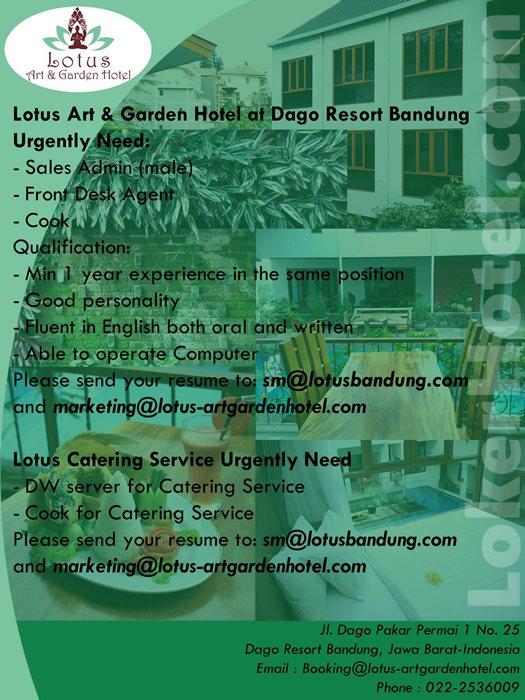 Lotus Art & Garden Hotel Bandung // fb Maharani Machruland