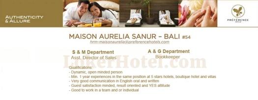 Maison Aurelia Sanur Bali