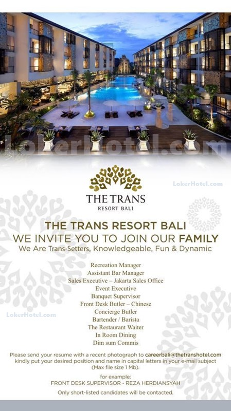 The Trans Resort Bali Lokerhotel Com