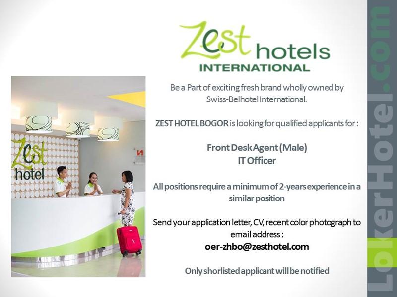 Info Loker Hotel Bogor