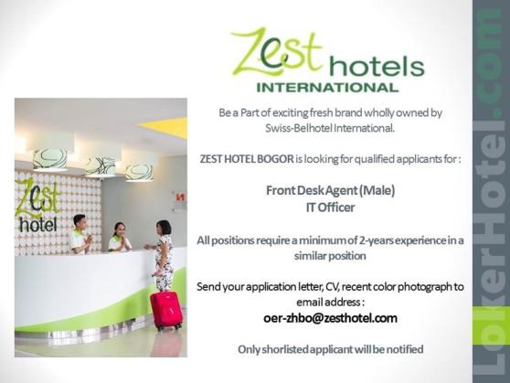 Zest Hotel Bogor Lokerhotel Com