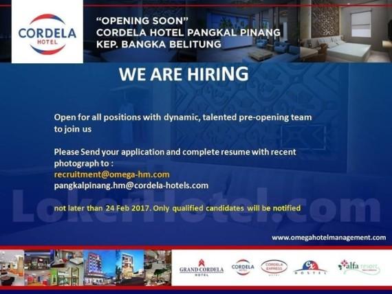 Cordela Hotel Pangkal Pinang / Asep Sudrajat