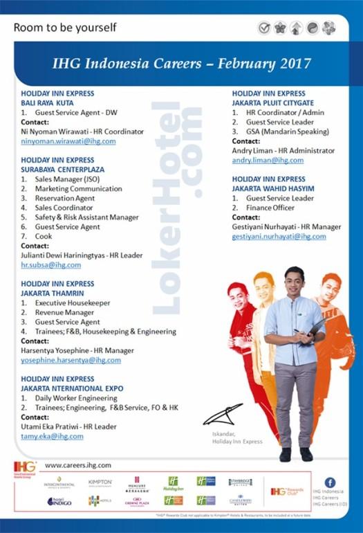 Holiday Inn Express Jakarta, Bali & Surabaya