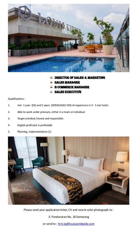 Louis Kienne Hotel Pandanaran Semarang / M. Rosalina