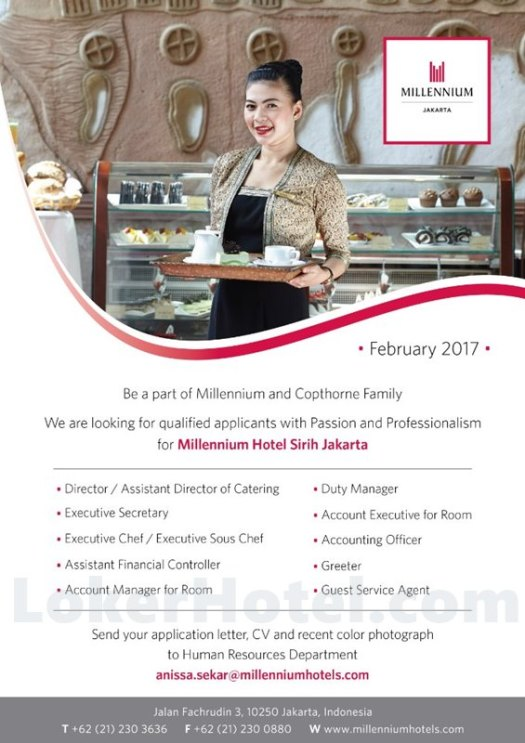 Millennium Hotel Sirih Jakarta / Satiti Dewi