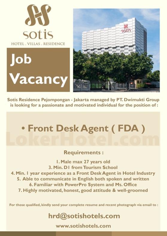 Sotis Residence Pejompongan Jakarta