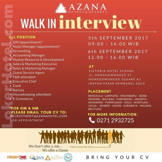 Azana Hotels & Resorts / Dicky Sumarsono MM., CHA. Master Hot
