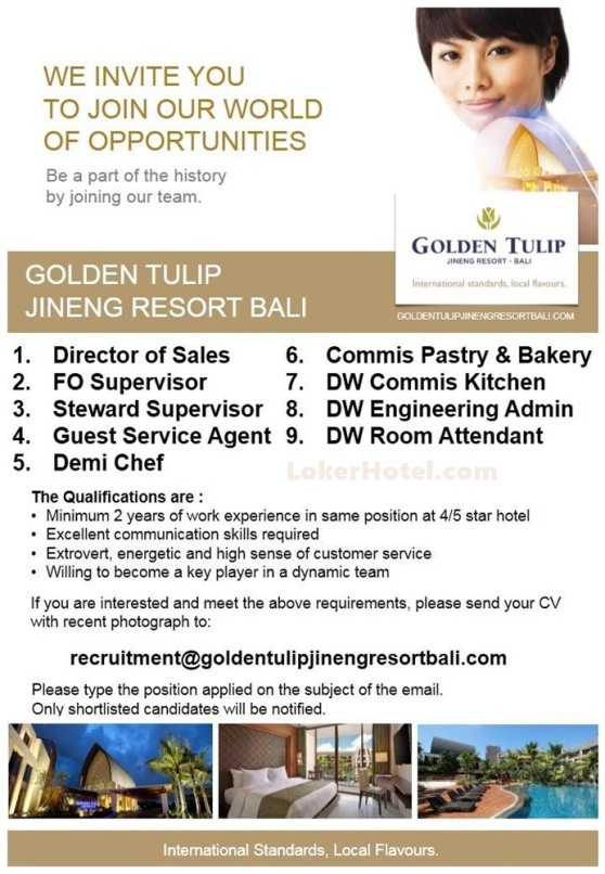 Golden Tulip Jineng Resort Bali // Vicky Dhavilla
