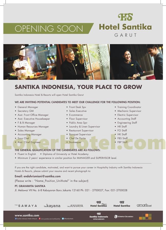 Hotel Santika Garut Lokerhotel Com
