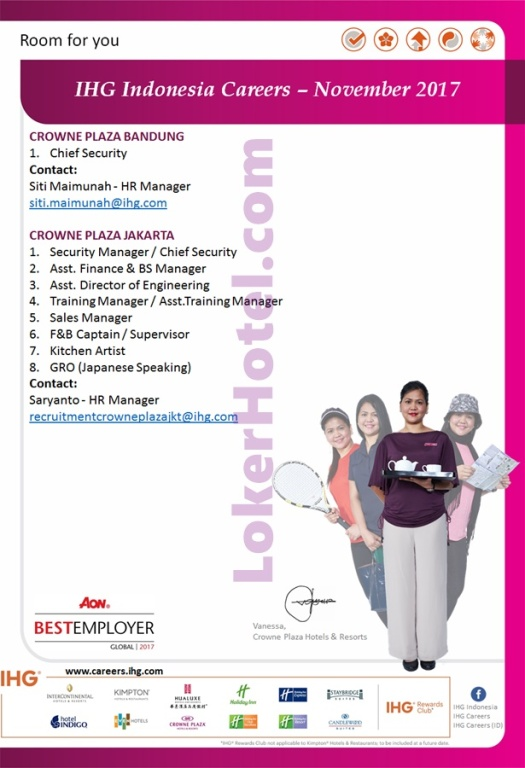 IHG Indonesia Careers November 2017