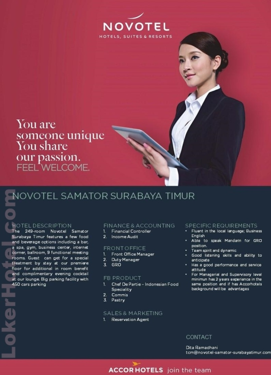 Novotel Samator Surabaya Timur / dita ramadhani