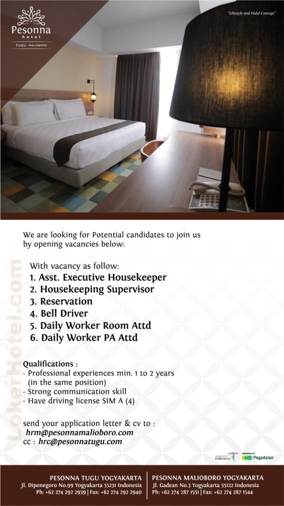Pesonna Tugu & Pesonna Malioboro Hotel Yogyakarta
