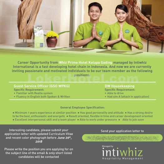 Whiz Prime Hotel Kelapa Gading Jakarta