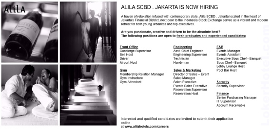 Alila SCBD Jakarta // Tissa Yuliana Prisilia