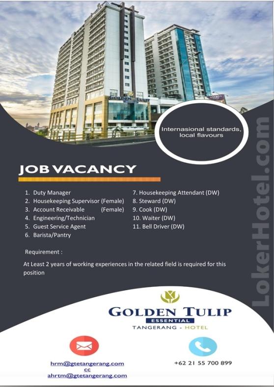 Golden Tulip Essential Tangerang