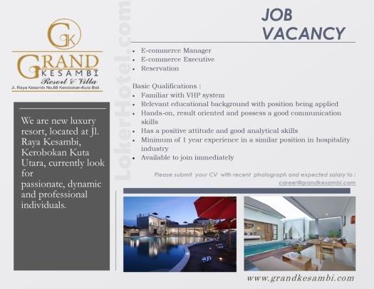 Grand Kesambi Resort & Villa Bali