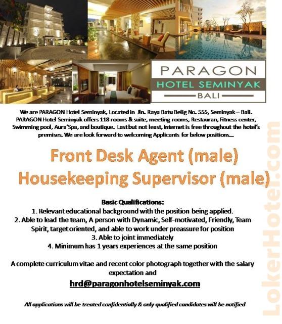 Paragon Hotel Seminyak Bali