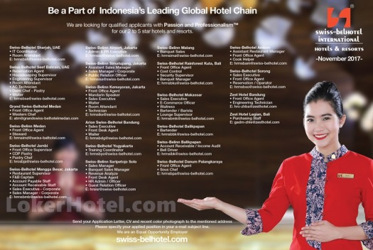 Swiss-Belhotel International — Staff